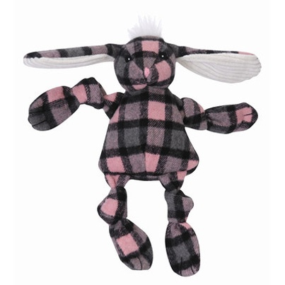 Hugglehounds HuggleHounds Plaid Bunny Medium