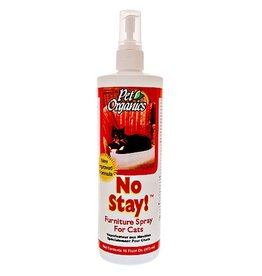 NaturVet NaturVet Pet Organics No Stay! Furniture Spray for Cats 16oz