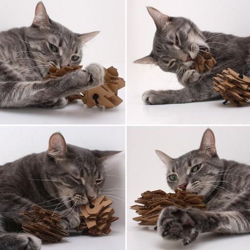 Eco Stacks Cardboard Cat Toys