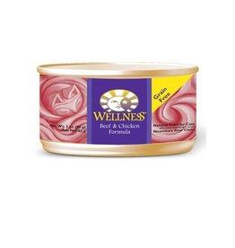 Wellness Wellness Cat Can Beef & Chicken 5.5oz