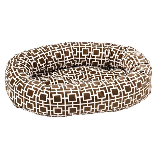 Bowsers Bowsers Donut Bed Courtyard Taupe
