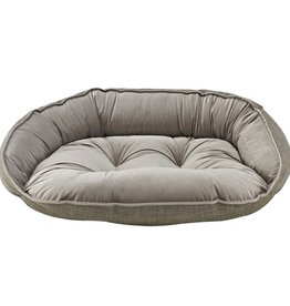 Bowsers Bowsers Crescent Bed Driftwood (Pebble Bottom, Driftwood Trim)