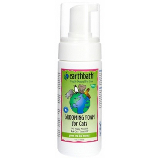 Earthbath Earthbath Green Tea Waterless Grooming Foam for Cats 118mL