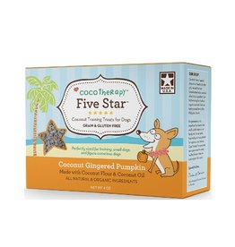 CocoTherapy Cocotherapy Five Star Treats Coconut Gingered Pumpkin 4oz