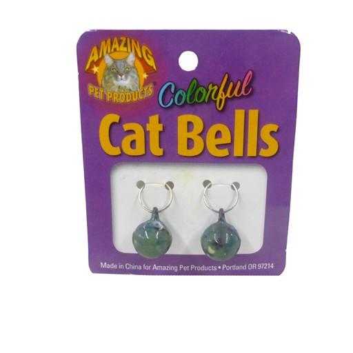 Amazing Pet Products Enamel Finish 14mm Cat Bells 2ct