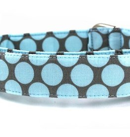 """Bow Wow Couture Bow Wow Couture Fresh Dots in Honey Blue Lead 1"""" x 5'"""