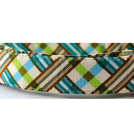 "Bow Wow Couture Bow Wow Couture Picnic in Blue Lead 1"" x 5'"