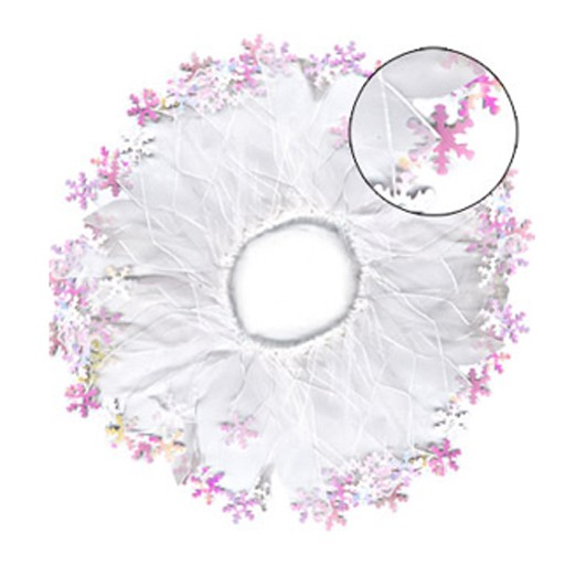 Party Collars Snow Flake L