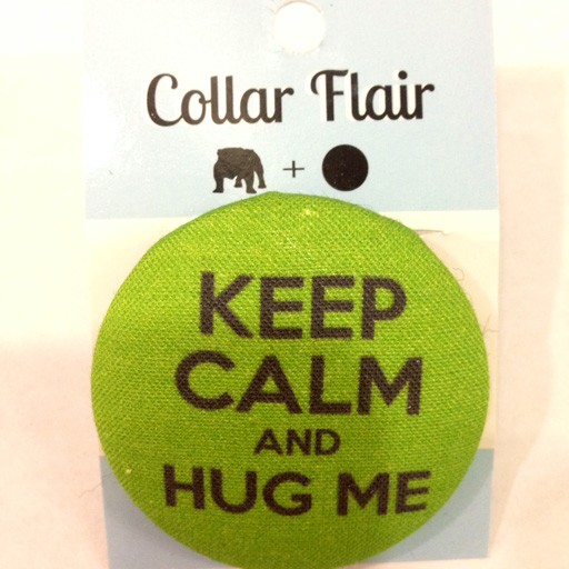 Bow Wow Couture Bow Wow Couture Collar Flair Keep Calm & Hug Me