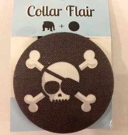 Bow Wow Couture Bow Wow Couture Collar Flair Skull with Patch