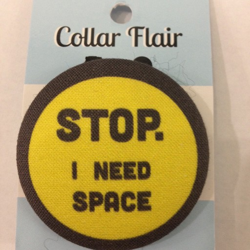 Bow Wow Couture Bow Wow Couture Collar Flair Stop I Need Space