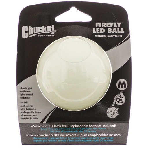 Chuckit! Firefly LED Ball Medium