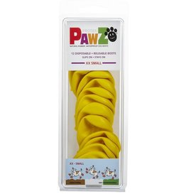 Pawz Dog Boots, Yellow, XXS