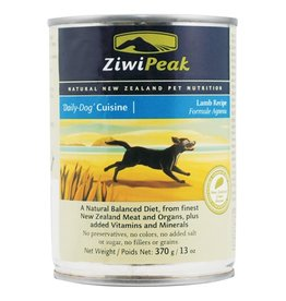 ZiwiPeak ZiwiPeak Dog Can Daily Cuisine Lamb 13.5oz