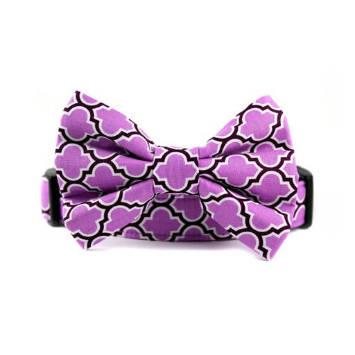 Bow Wow Couture Bow Wow Couture Barcelona in Lilac Bow Tie