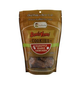 Sam's Yams Sam's Yams Cranapple Orange Crunchers Cookies 4.5oz