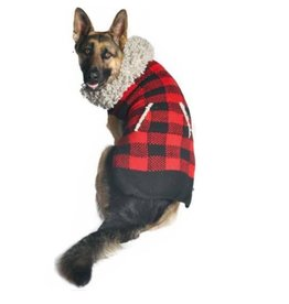 Chilly Dog Chilly Dog Lumberjack with Shearling Collar