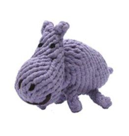 "Jax and Bones Jax and Bones Good Karma Rope Toy Hank the Hippo 10"""
