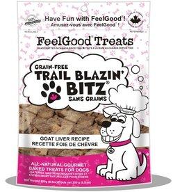 Feel Good Trail Blazin Bitz Goat Liver Recipe 250g