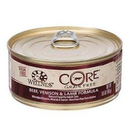 Wellness Wellness Cat CORE Can Beef, Venison & Lamb 5.5oz