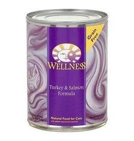 Wellness Wellness Cat Can Turkey & Salmon 12.5oz