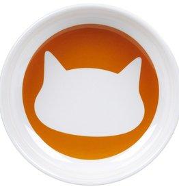 Ore Ore Pet Shadow Sunset Orange Cat Bowl