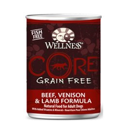 Wellness Wellness Dog CORE Can Beef, Venison, Lamb 12.5oz