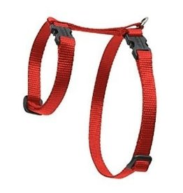 Lupine Pet H Style Cat Harness Red