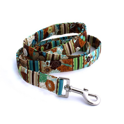 """Bow Wow Couture Bow Wow Couture Junebug in Blue Lead 3/4"""" x 5'"""