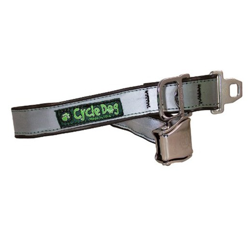 Cycle Dog Max Reflective Collar with Metal Buckle