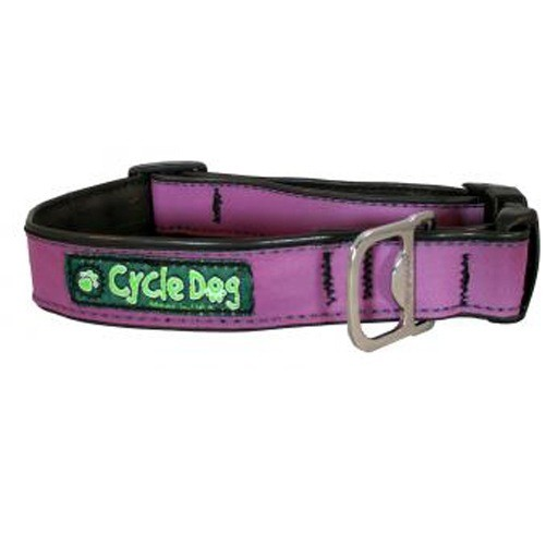 Cycle Dog Max Reflective Collar with Plastic Buckle