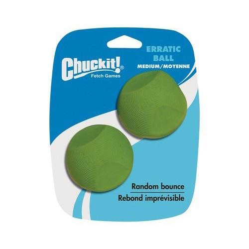 Chuckit! Erratic Ball Medium 2pk