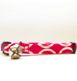 Bow Wow Couture Bow Wow Couture Mod Pink Cat Collar 3/8""
