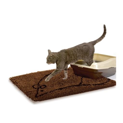 "Dog Gone Smart Dog Gone Smart Cat Litter Mat Brown 26""x35"""