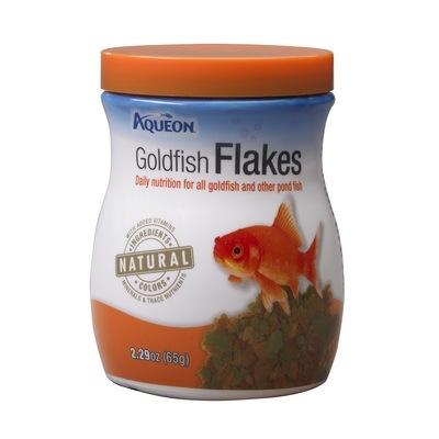Aqueon Goldfish Flakes 2.29oz
