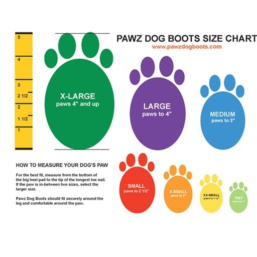 Pawz Dog Boots, Lime Green, Tiny