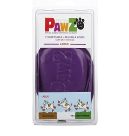 Pawz Dog Boots, Purple, L