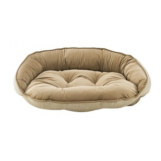 Bowsers Bowsers Crescent Bed Flax L