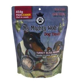 Waggers Waggers My Mighty Wolf Dog Treats Turkey 150g
