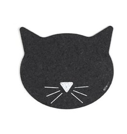 Ore Pet Recycled Rubber Cat Head Placemat