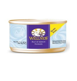 Wellness Wellness Cat Can Beef & Salmon 5.5oz