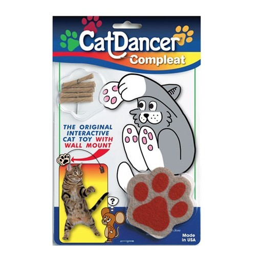Cat Dancer with Paw Stand