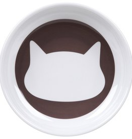 Ore Ore Pet Shadow Dusty Brown Cat Bowl