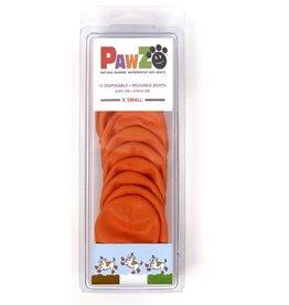 Pawz Dog Boots, Orange, XS