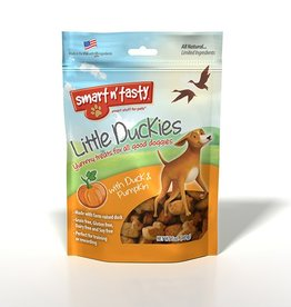 Emerald Pet Products Smart n' Tasty Little Duckies Treats with Duck and Pumpkin 5oz