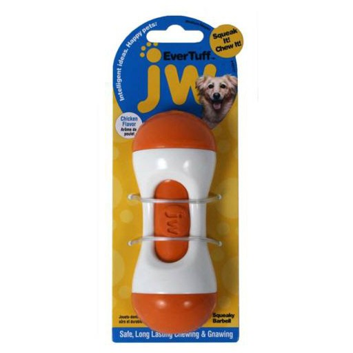 JW JW Squeaky Barbell Medium
