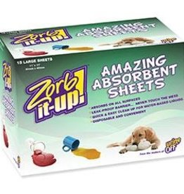 Urine Off Zorb-It-Up! Disposable Sheets 12pk