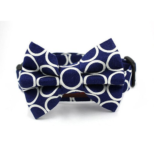 Bow Wow Couture Bow Wow Couture Mod Dog in Navy Bow Tie
