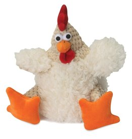 Go Dog Go Dog Chew Guard Checkered Fat White Rooster Small