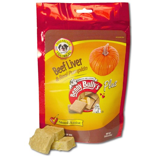 Benny Bully's Beef Liver Plus Pumpkin 58g